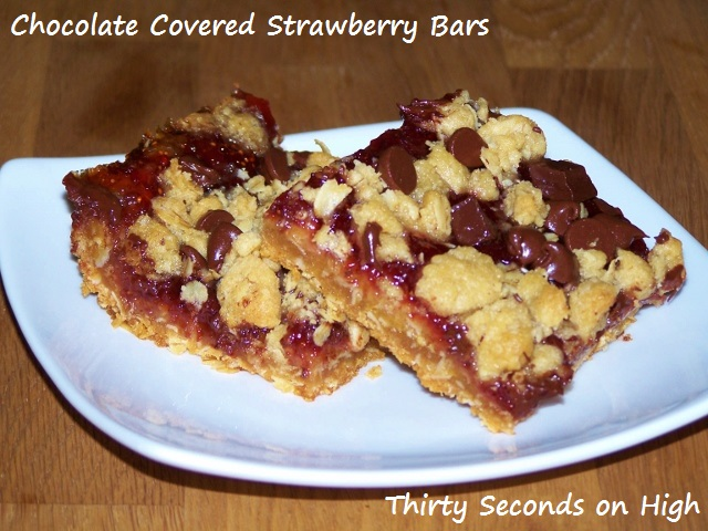 Chocolate Covered Strawberry Bars (640x480) with text