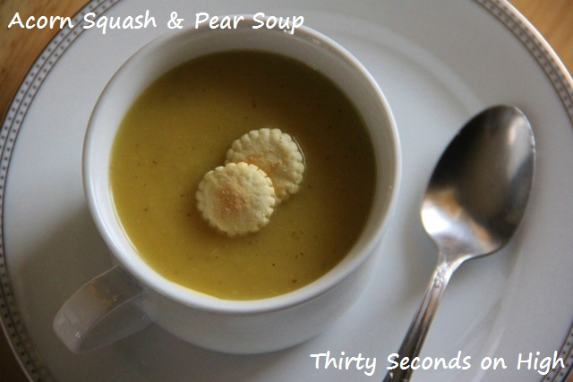 Acorn Squash and Pear Soup